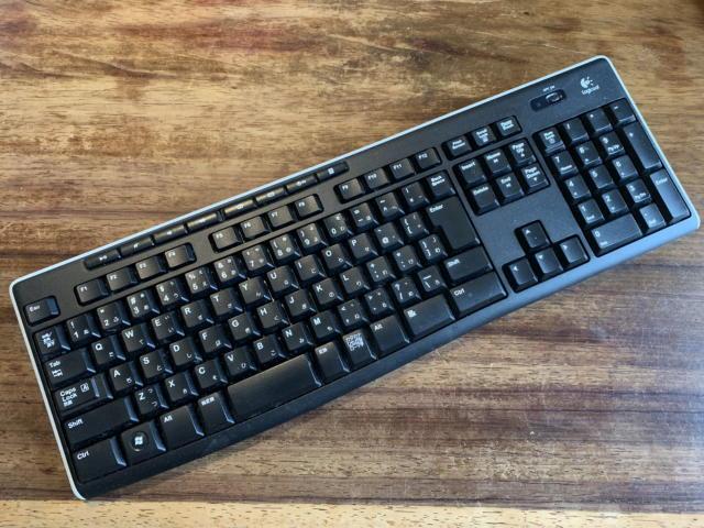 ロジクール ワイヤレス キーボード K270