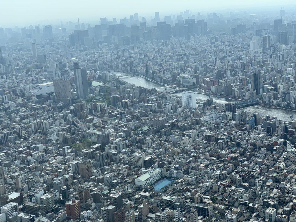 東京スカイツリー景色