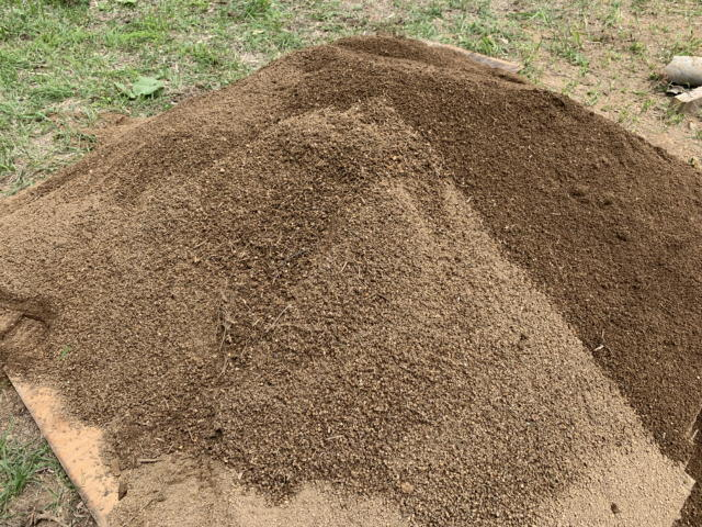 振るった土