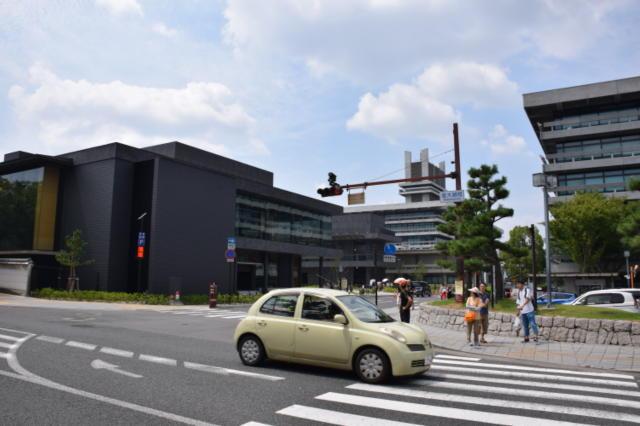 奈良登大路自動車駐車場