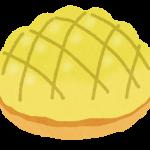 焼きカスタードメロンパン
