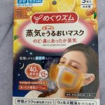 蒸気でうるおいマスク