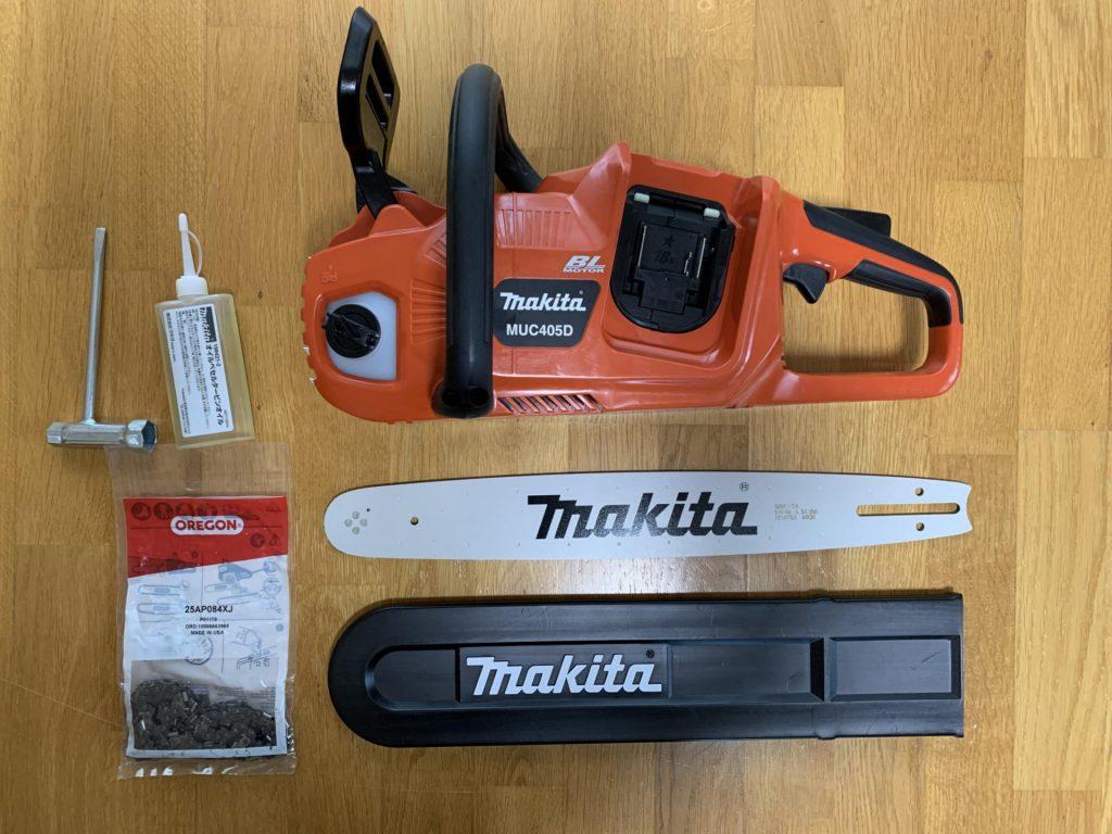 マキタ 充電式チェンソー MUC405