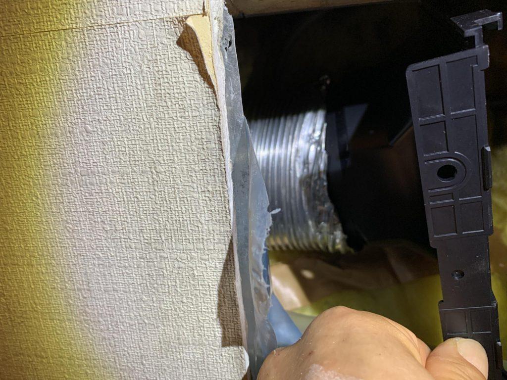 天井埋込型換気扇 FY-17C8 取付