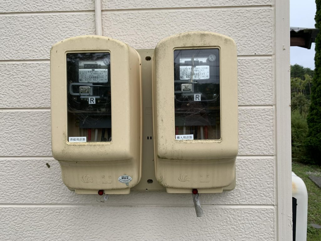 電力計をスマートメータに交換
